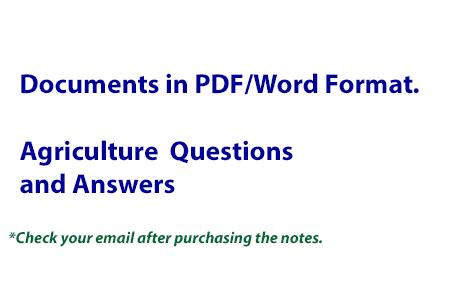2018 KCSE Agriculture Papers(Qs & Ans)Compilation